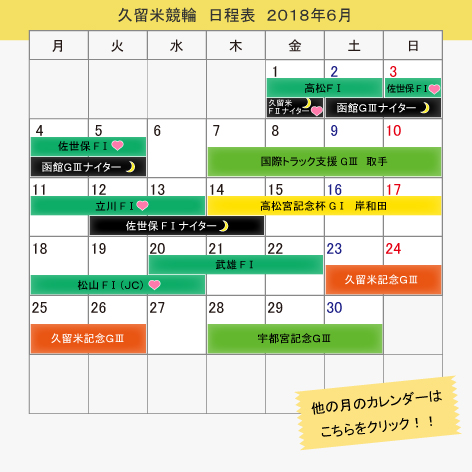 Kurume bicycle race June, 2018 itinerary